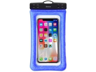 """Universelle Wasserdichte Schutzhülle für Smartphones bis 6.5"""" blau"""