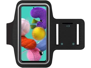 Samsung Galaxy A51 Fitness Jogging Sport Armband mit Schlüsselfach