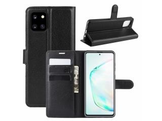 Samsung Note 10 Lite Leder Hülle Portemonnaie Karten Ledertasche