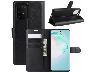 Samsung Galaxy S10 Lite Leder Hülle Portemonnaie Karten Ledertasche