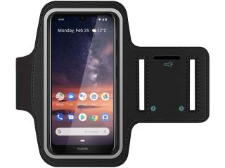 Nokia 3.2 Fitness Jogging Sport Armband mit Schlüsselfach