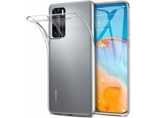Huawei P40 Gummi Hülle flexibel dünn transparent thin clear case