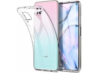 Huawei P40 Lite Gummi Hülle flexibel dünn transparent thin clear case
