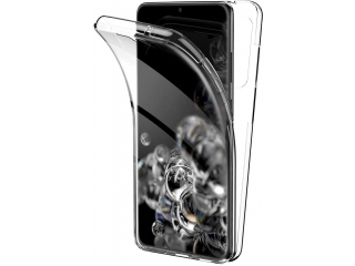 360 Grad Samsung S20 Ultra Touch Case Transparent TPU Rundumschutz