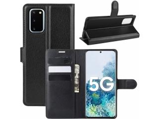 Samsung Galaxy S20 Leder Hülle Portemonnaie Karten Ledertasche