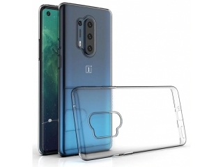 OnePlus 8 Pro Gummi Hülle flexibel dünn transparent thin clear case