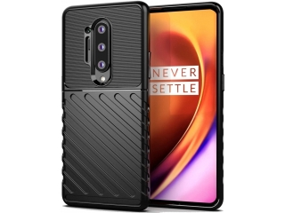 OnePlus 8 Pro Stripes Shock Case Hülle flexible TPU Hülle