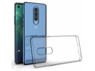 OnePlus 8 Gummi Hülle flexibel dünn transparent thin clear case