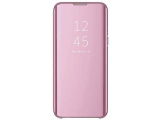 Xiaomi Mi 9 Flip Cover Clear View Flip Case transparent rosa