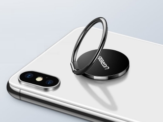 UGREEN Magnetic iRing Handy Ring Halterung 3M selbstklebend schwarz