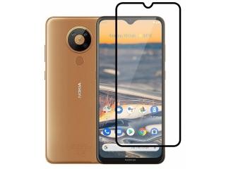 Nokia 5.3 100% Vollbild Panzerglas Schutzfolie 0.23mm 2.5D