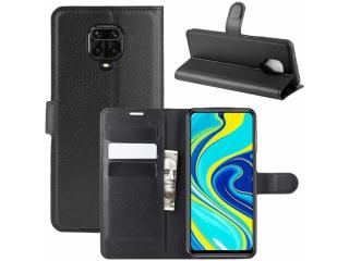 Xiaomi Redmi Note 9S Leder Hülle Portemonnaie Karten Ledertasche