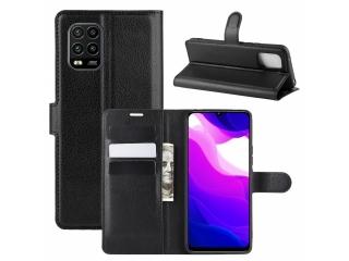 Xiaomi Mi 10 Lite Leder Hülle Portemonnaie Karten Ledertasche