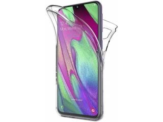 360 Grad Samsung Galaxy A40 Touch Case Transparent Rundumschutz