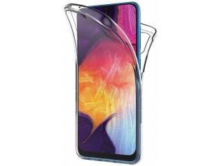 360 Grad Samsung Galaxy A50 Touch Case Transparent Rundumschutz