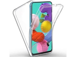 360 Grad Samsung Galaxy A51 Touch Case Transparent Rundumschutz