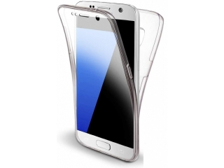 360 Grad Samsung Galaxy S7 Touch Case Transparent Rundumschutz