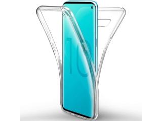 360 Grad Samsung Galaxy S10e Touch Case Transparent Rundumschutz