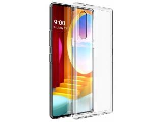 LG Velvet Gummi Hülle flexibel dünn transparent thin clear case