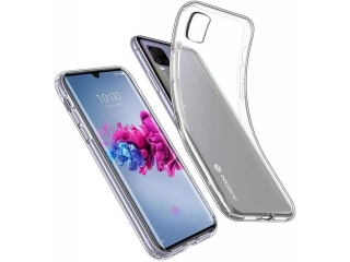 ZTE Axon 11 Gummi Hülle flexibel dünn transparent thin clear case