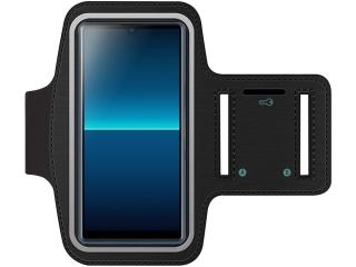Sony Xperia L4 Fitness Jogging Sport Armband mit Schlüsselfach