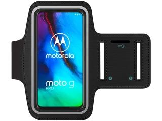 Motorola Moto G Pro Fitness Jogging Sport Armband mit Schlüsselfach
