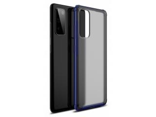 Samsung Galaxy S20 FE Anti-Impact Hülle 2m Fallschutz blau