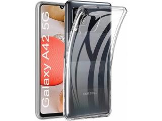 Samsung Galaxy A42 5G Gummi Hülle flexibel dünn transparent clear case