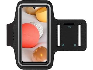 Samsung Galaxy A42 5G Fitness Jogging Sport Armband mit Schlüsselfach