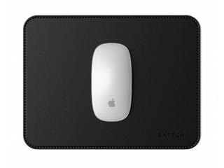 Satechi Eco-Leather Mausmatte Anti-Rutsch Leder Mousepad - schwarz