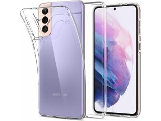 Samsung Galaxy S21 Gummi Hülle flexibel dünn transparent clear case