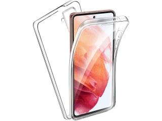 360 Grad Samsung Galaxy S21 Touch Case Transparent Rundumschutz