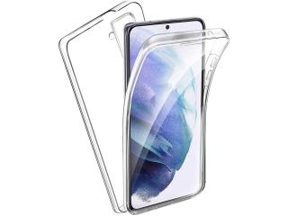 360 Grad Samsung Galaxy S21+ Touch Case Transparent Rundumschutz