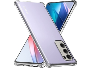 Oppo Find X3 Neo Hülle Crystal Clear Case Bumper transparent