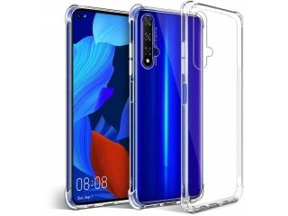 Huawei Nova 5T Hülle Crystal Clear Case Bumper transparent