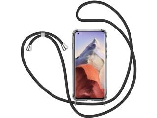 Xiaomi Mi 11 Ultra Handykette Necklace Hülle Gummi transparent clear
