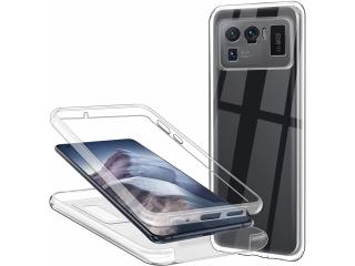 360 Grad Xiaomi Mi 11 Ultra Touch Case Transparent Rundumschutz