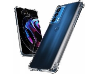 Motorola Edge 20 Pro Hülle Crystal Clear Case Bumper transparent
