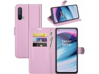 Realme GT Master Lederhülle Portemonnaie Karten Ledertasche rosa