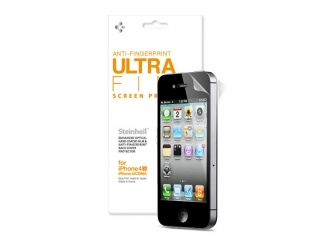 iPhone 4/4S SGP Steinheil Anti Fingerprint Ultra Fine Schutzfolie