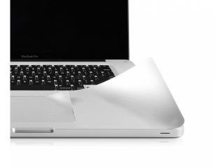 "MacBook Air 11"" Palmguard Schutzfolie / Palmrest Folie in silber"
