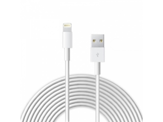Apple iPhone Lightning USB Ladekabel 3 Meter - weiss