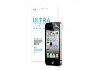 iPhone 4/4S SGP Steinheil Clear Ultra Crystal Schutzfolie Vorne+Hinten