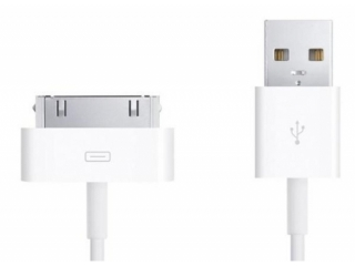 Apple iPhone 30 pin USB Ladekabel (Original Apple) iPhone 4/4S, iPad 2