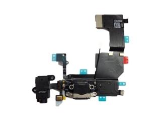 iPhone 5S Lightning Dock Connector / Audio Flex / Mikrofon - Schwarz