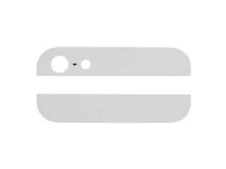 iPhone 5 Original Glas Keramik Abdeckung für Backcover - weiss