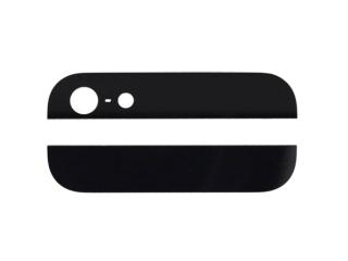 iPhone 5 Glas Keramik Abdeckung für Backcover - schwarz