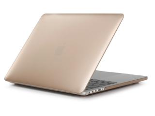 "MacBook Pro Retina 15"" Schutzhülle - Gold - Matt Case SmartShell-Hülle"