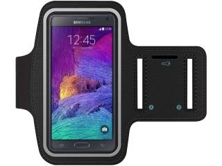 Samsung Galaxy Note 3 / Note 4 / Note 5 Sport Armband in schwarz