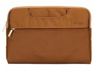 """MacBook Tasche Sleeve 15"""" 16"""" Schutzhülle Notebook Slim Tasche braun"""